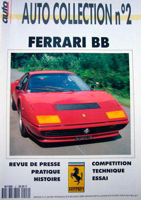 Auto passion Ferrari BB